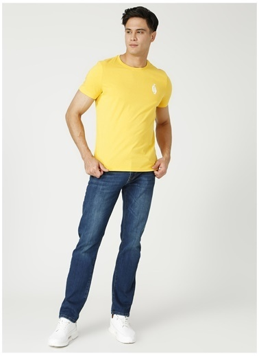 Limon Company Limon Dark Koyu İndigo Bisiklet Yaka Erkek Denim Pantolon İndigo